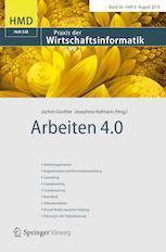 Arbeiten 4.0 – Veröffentlichung